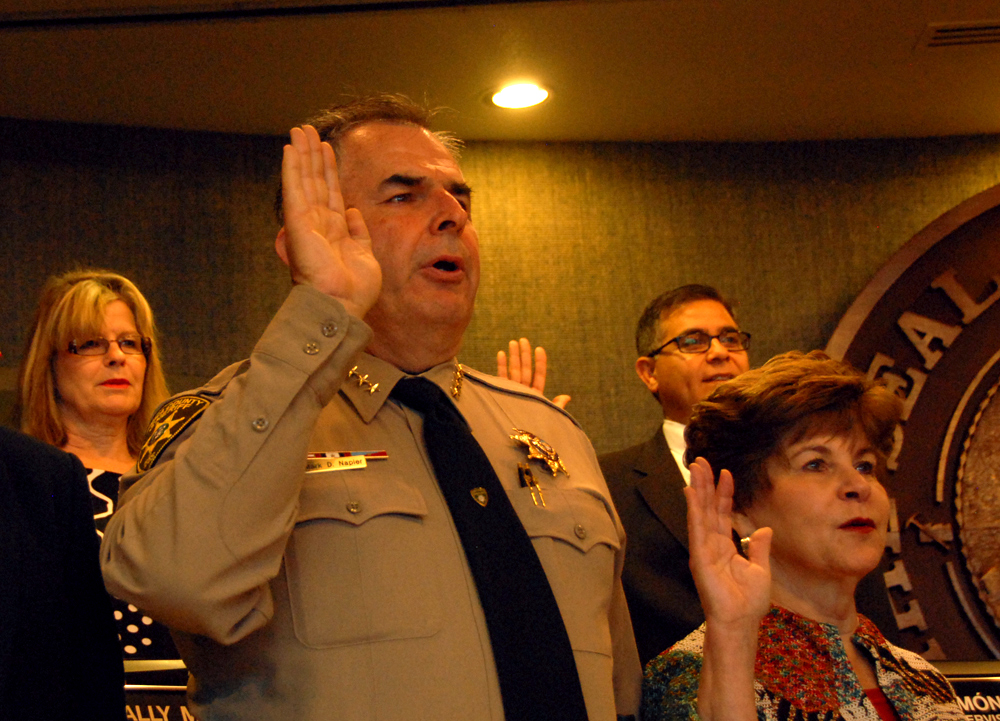 Sheriff's Dep't GV commander claims political payback in demotion by