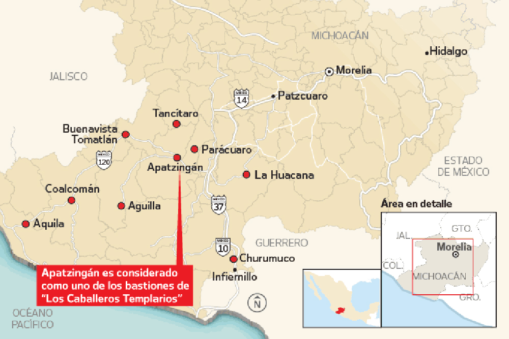 this map could mean militia mayhem for mexico