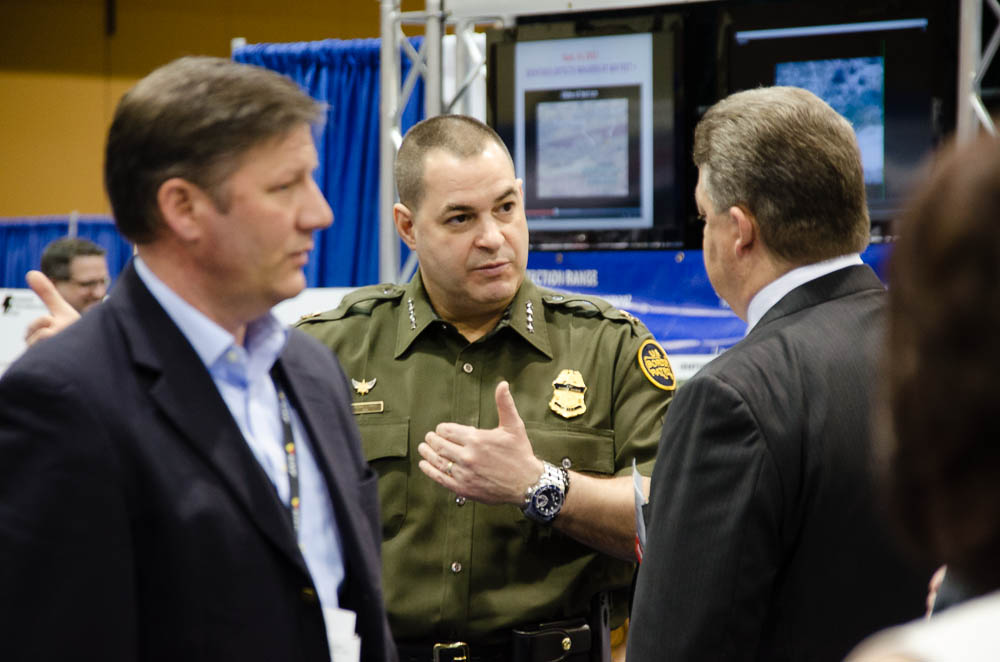 Tech Companies Showcase Surveillance Gear At Border Expo