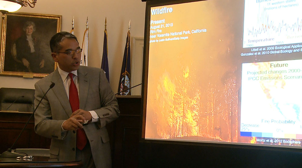 Experts say climate change makes long-term wildfire outlook grim