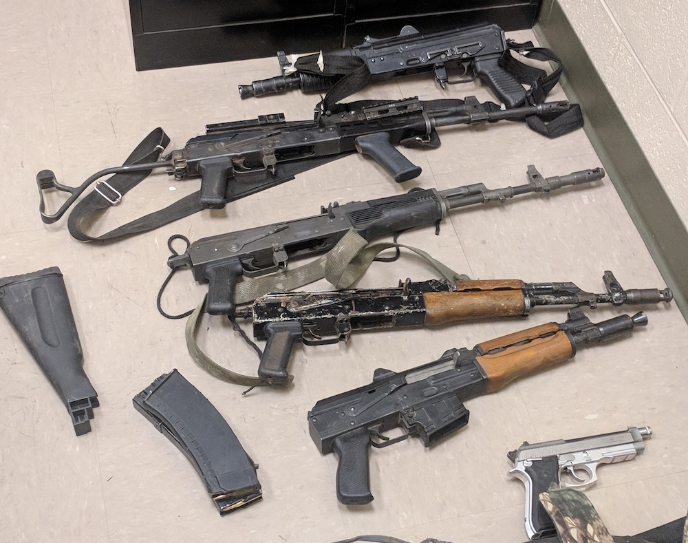 ee30e9893 BP uncovers cache of weapons near Ajo, 3 men arrested