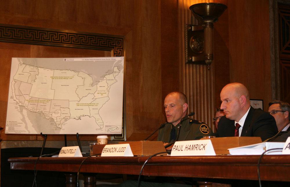 Senate panel weighs plan to rein in Border Patrol overtime