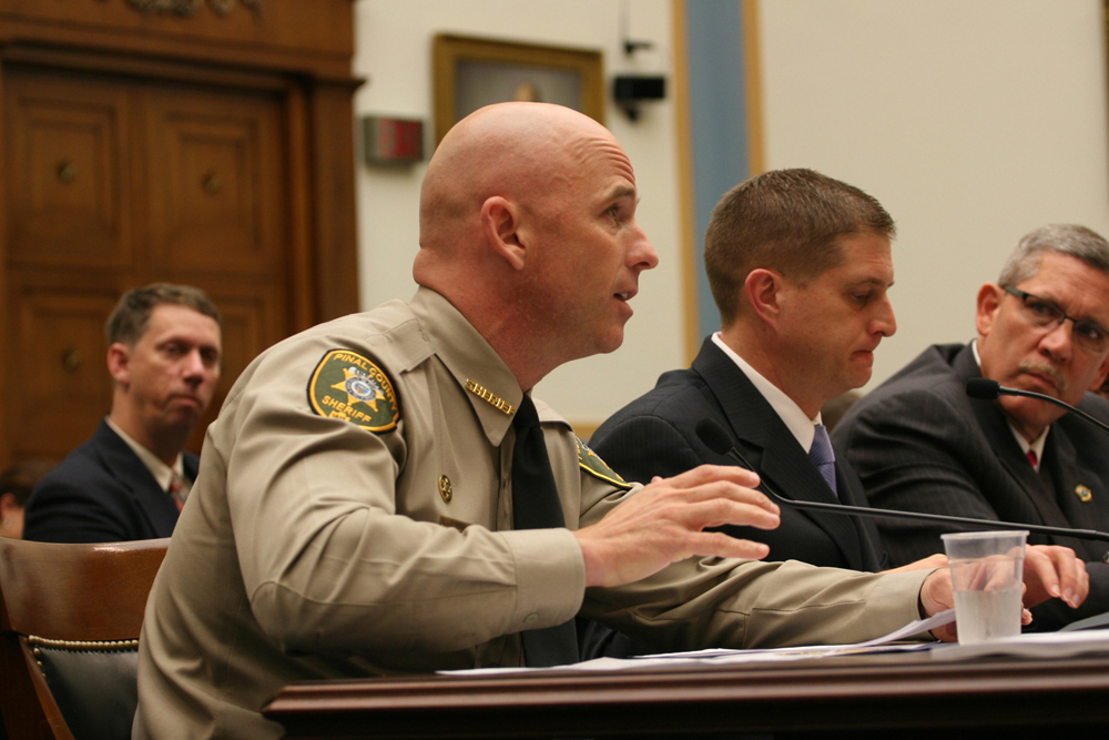 Babeu urges House to reject Senate immigration bill, focus