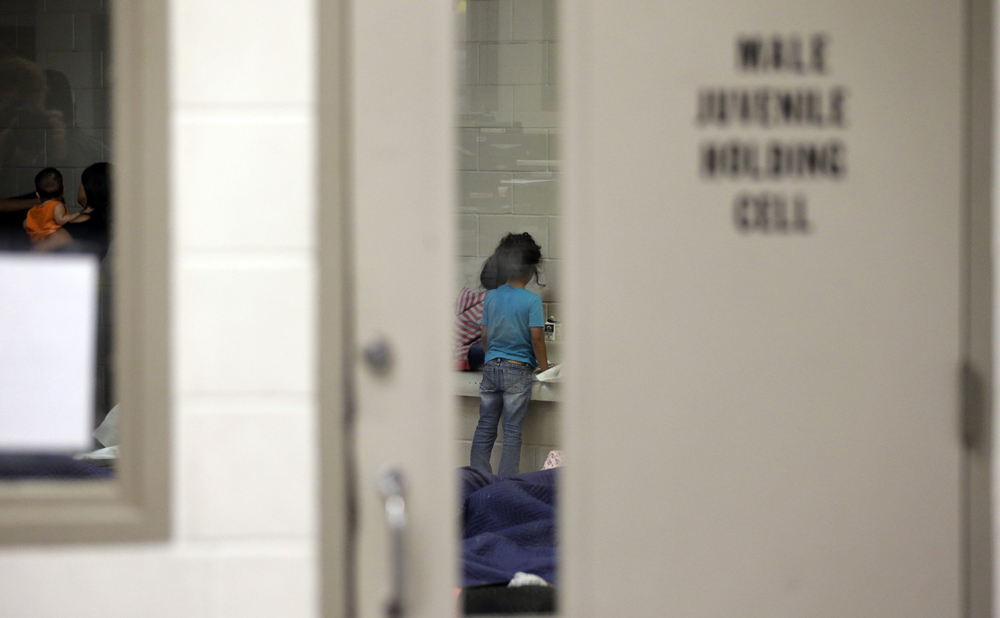 Photos: A look at CBP's Brownsville detention center
