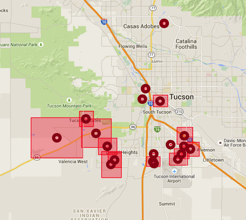 Tep About 20k In Tucson Without Power