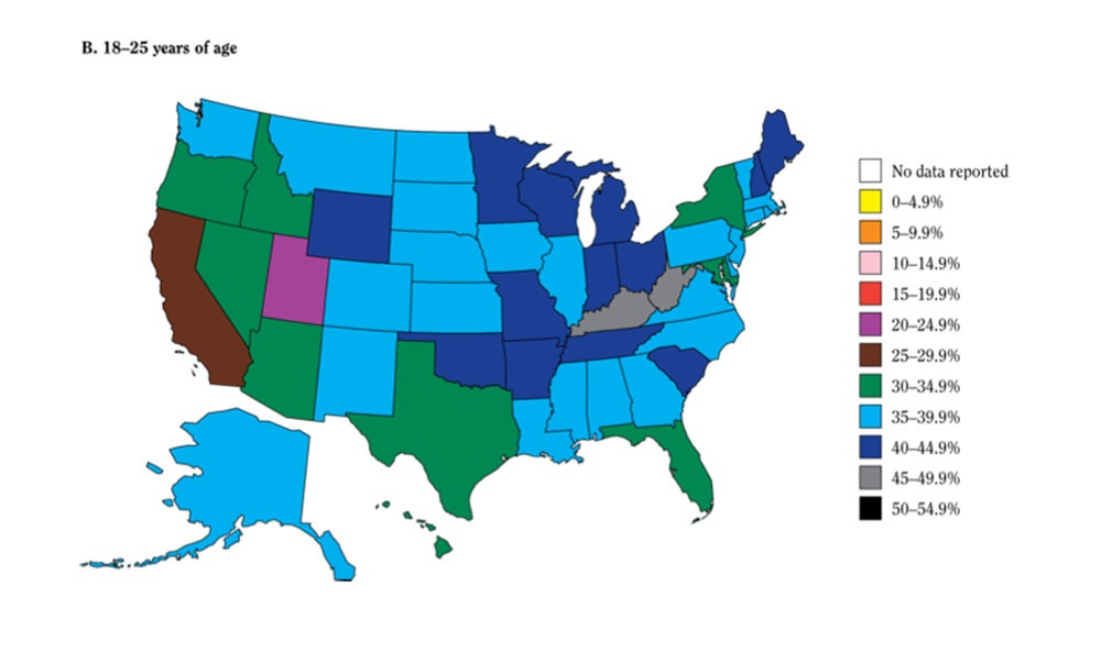 az has one of lowest rates of tobacco use by young