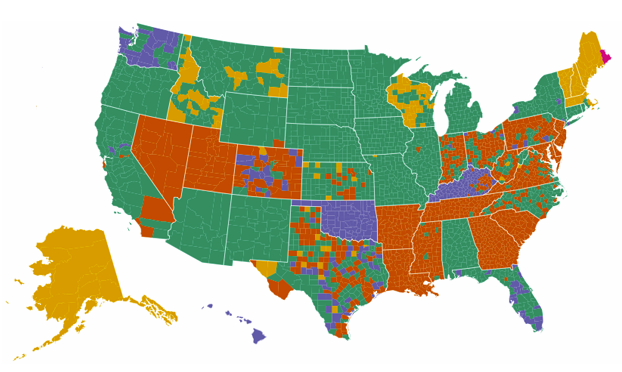Strict Voter ID Laws Solve A Problem That Does Not Exist - Map of voter id laws in the us