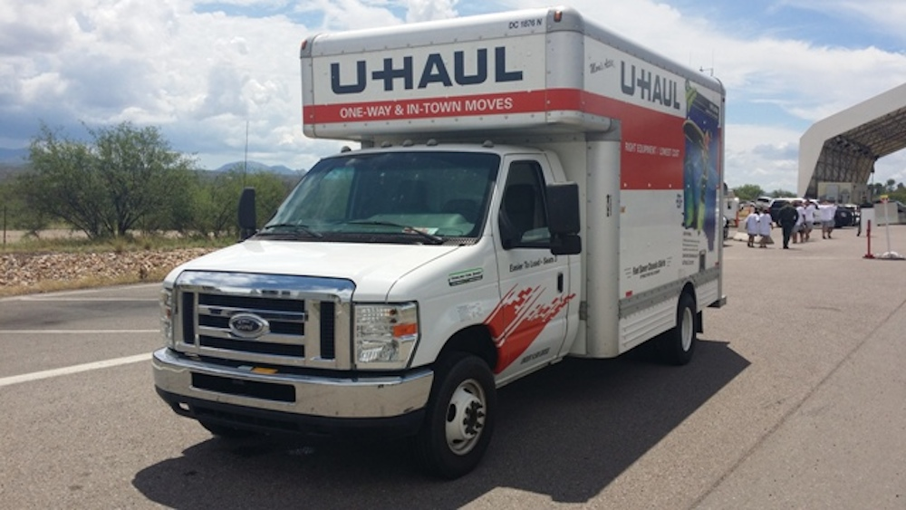 Image result for illegals uhaul truck