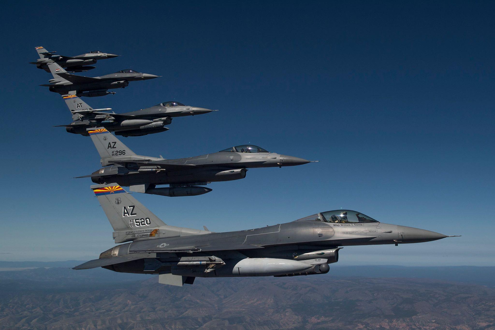 Iraqi Pilot Killed When Tucson Based F 16 Crashes Near Safford