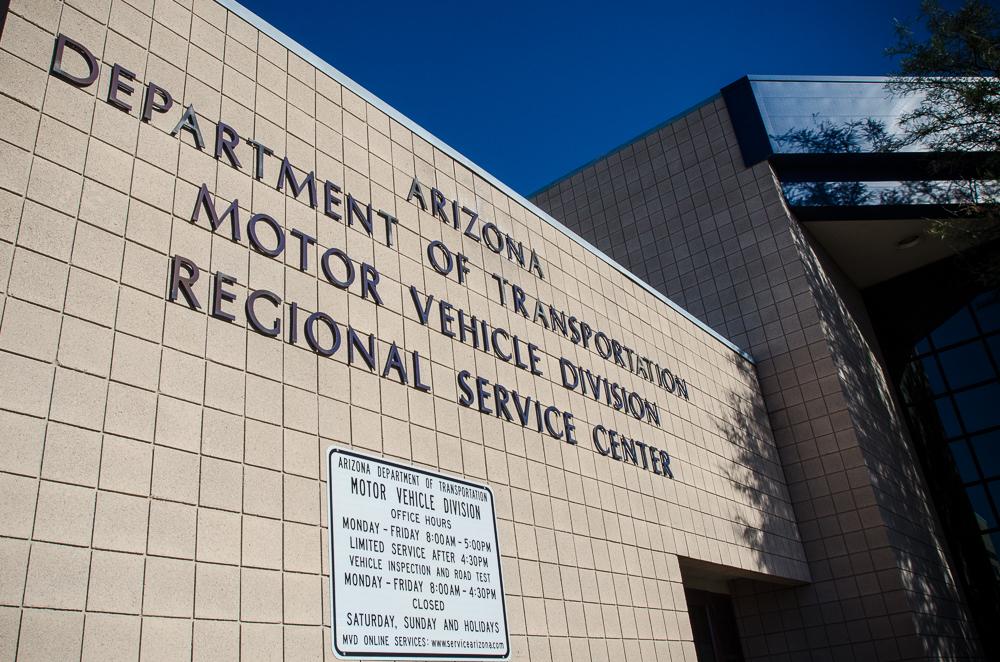 Az motor vehicle division for Motor vehicle department tucson