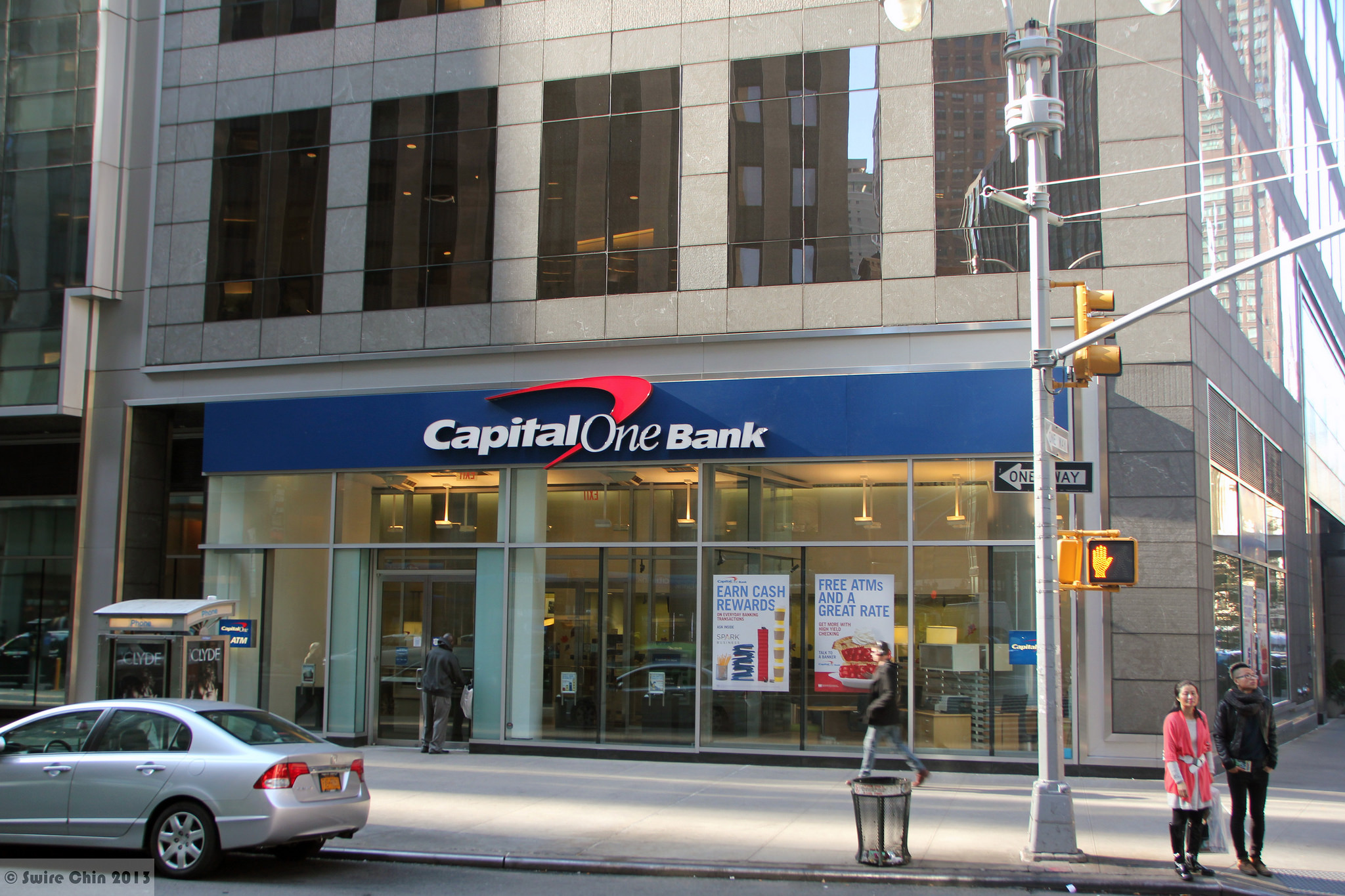 At Capital One Easy Credit And