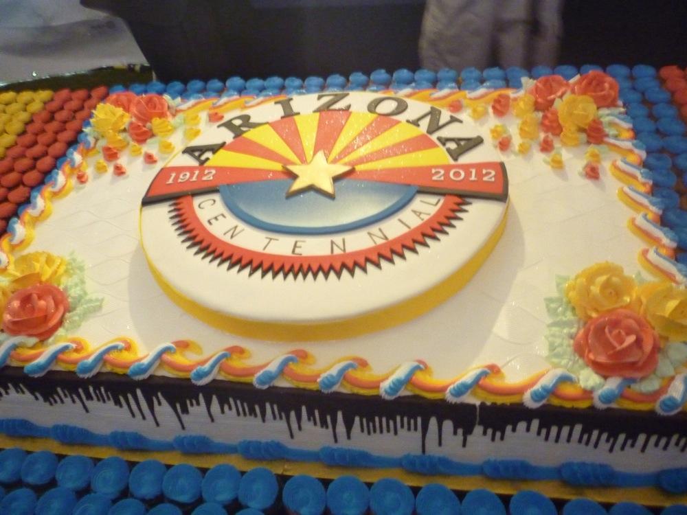 Arizona State Birthday Cake