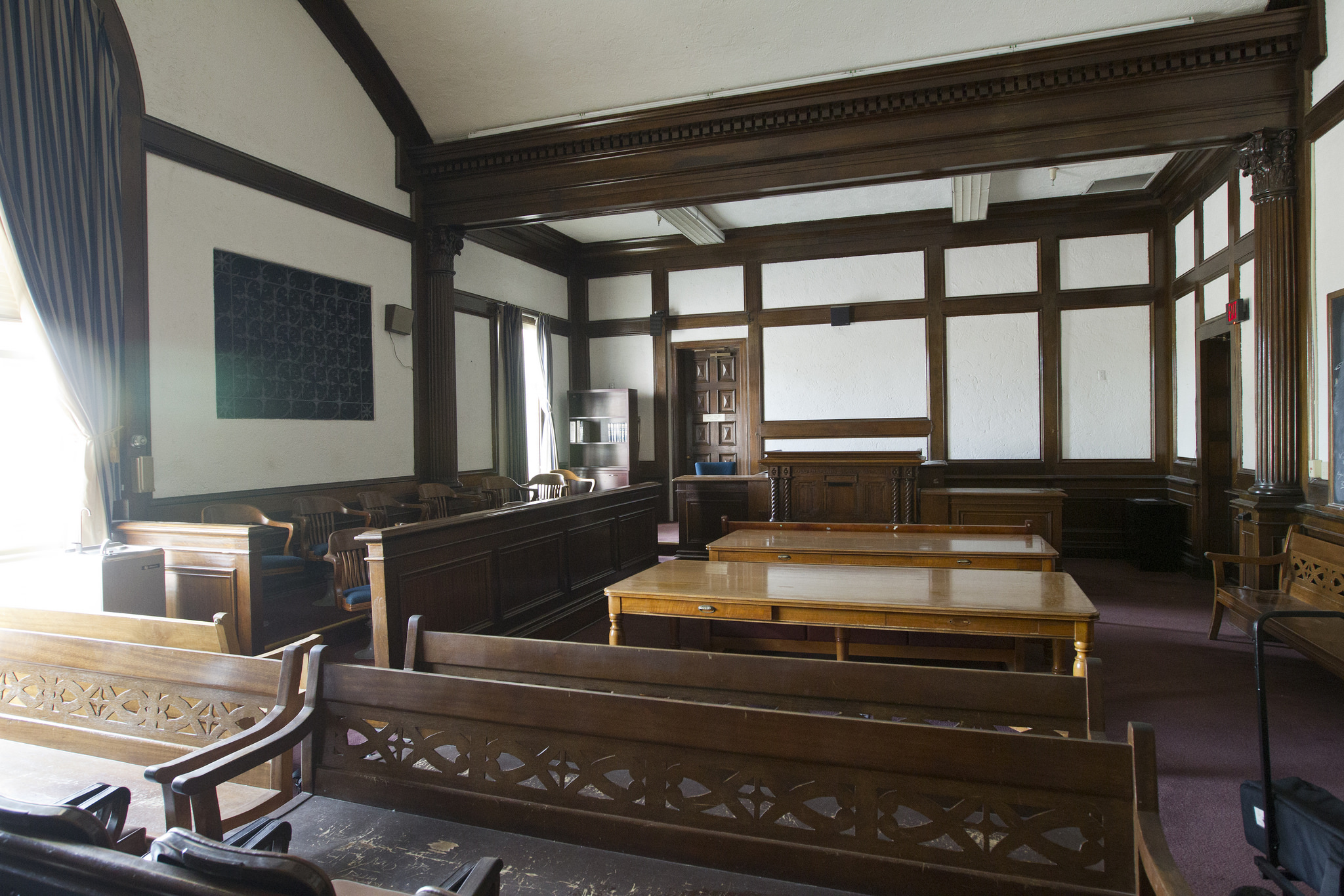 photos  inside the historic pima county courthouse
