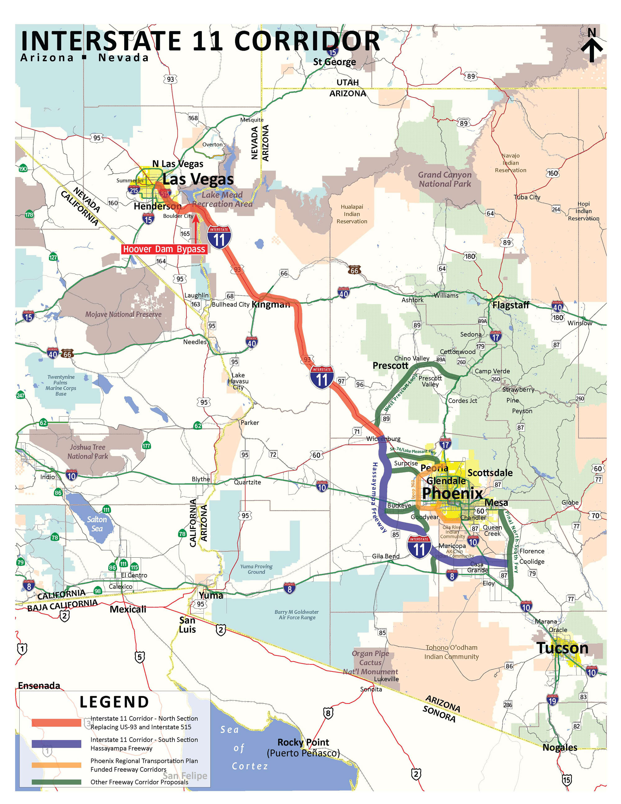 Study Moves Highway Between Valley Las Vegas Closer To Reality - Map of route 40 in us
