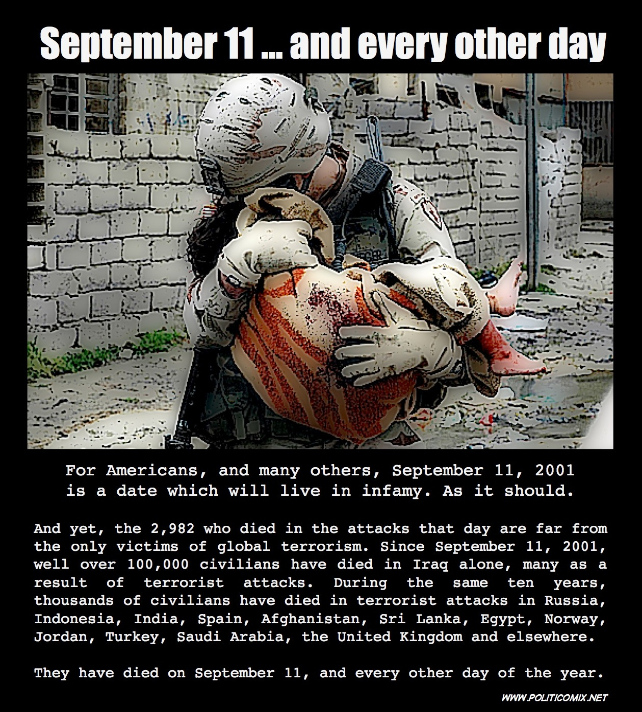 Comic: September 11    and every other day   Terrorism