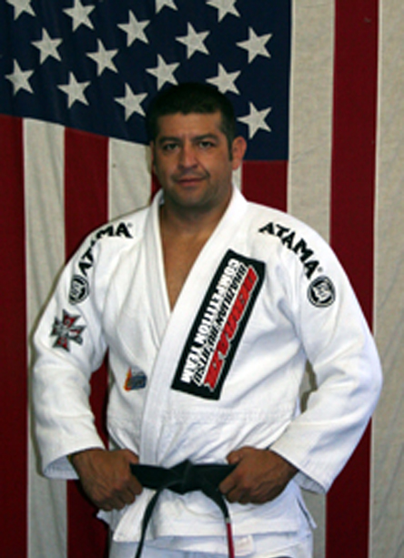 Officer Martin H. Escobar, who filed suit against SB 1070, is also a jui-jitsu champion.