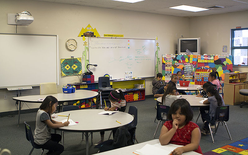 Navajo school immerses tribal youth in Diné language and culture