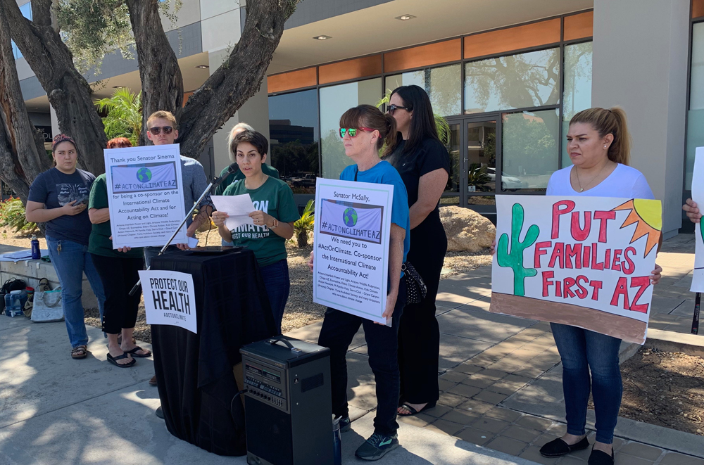 Environmental groups call for McSally to support climate