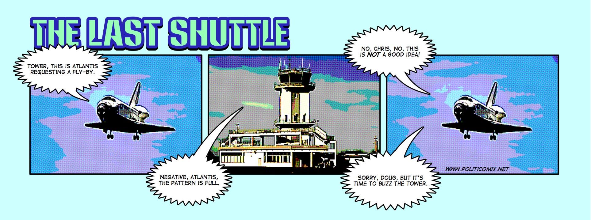 space shuttle comic - photo #11