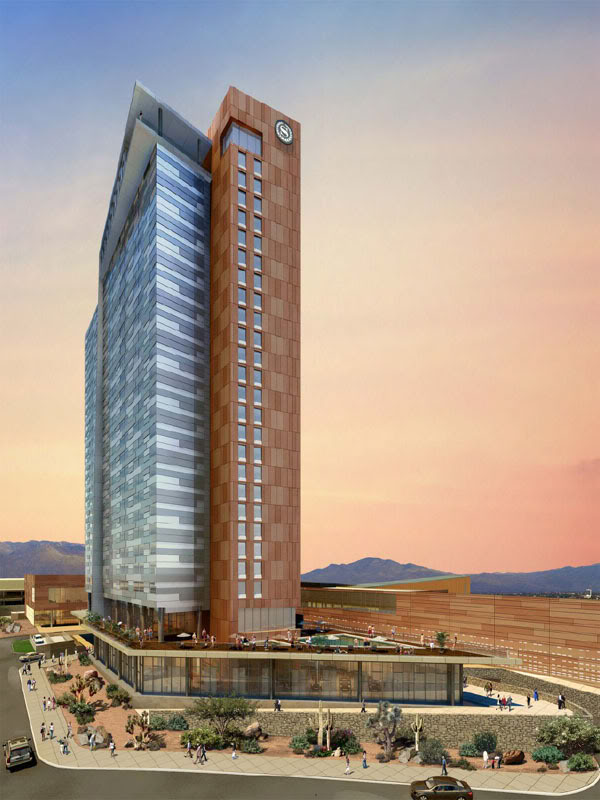 A Rendering Of The Proposed Convention Hotel Downtown