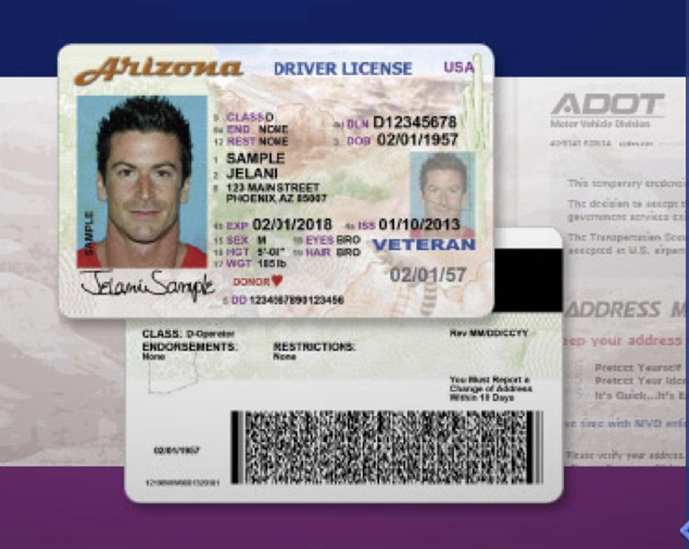 Az Introduces Secure Drivers License Application Process