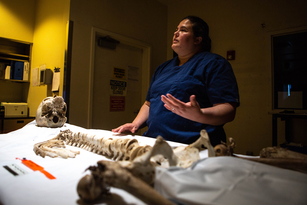Repatriating remains of those found in desert is long